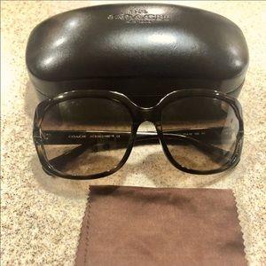 Coach Dark Tortoise Sunglasses